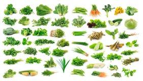 Samling av frukt och grönsaker Royaltyfri Fotografi