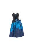 Samling av klänningar Arkivfoto