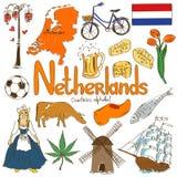 Samling av nederländska symboler