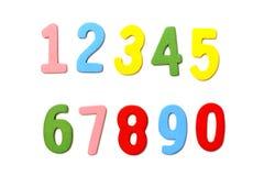 Samling av numret Arkivfoto
