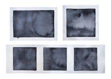 Samling av olika gamla tomma fotoramar vektor illustrationer