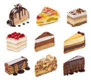 Kräm- tårta arkivbild