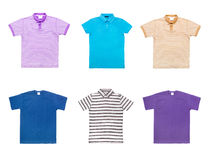 Samling av olika t-skjortor Royaltyfria Bilder