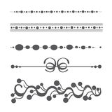 Samling av vektordesignbeståndsdelar Royaltyfri Foto