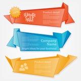 Samling av websitebeståndsdelar Stock Illustrationer