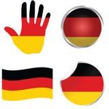 samling deutschland germany Arkivfoto