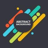 Samling för design för material för Coloful cirkelbakgrund, geometrisk formbakgrundsmall för websitesamling royaltyfri illustrationer