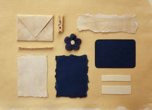 Samling för pappers- rest royaltyfri foto