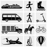 Foto och massmediasymboler. stock illustrationer