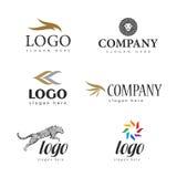 Logoen pälsfodrar salongen Arkivbilder