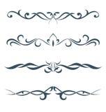 Samlingen av tatueringarna Royaltyfria Bilder