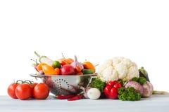 samlingen bär fruktt grönsaker Royaltyfria Bilder