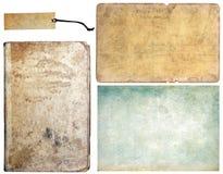 samlingen textures tappning Arkivbild