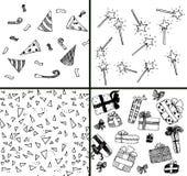samlingsdeltagare Vektor Illustrationer
