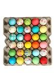 samlingseaster ägg Arkivfoton