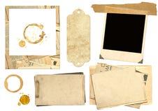 samlingselement som scrapbooking Fotografering för Bildbyråer