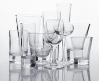samlingsexponeringsglas Arkivfoto