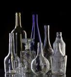 Samlingsflaskor Royaltyfri Fotografi