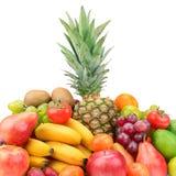 Samlingsfrukt med ananas Royaltyfri Foto
