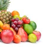 Samlingsfrukt med ananas Royaltyfria Foton