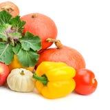 Samlingsfrukt och grönsaker Royaltyfri Bild