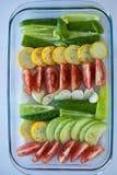 Samlingsgrönsaker som isoleras på en vit bakgrund Fotografering för Bildbyråer