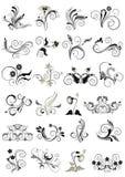 Samlingskrusidullmodeller för design Royaltyfri Bild