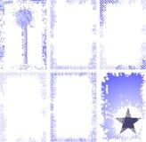 samlingsramgrunge Royaltyfria Bilder