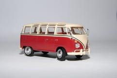 Samlingsskalamodell av bilminibussen Royaltyfri Bild