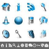 samlingssymboler Fotografering för Bildbyråer
