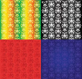 samlingstappningwallpaper Arkivfoton