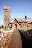A samll church in Cardiganshire Stock Image