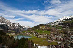Small town in Engelburg Royalty Free Stock Photos