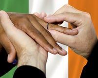 Samma könsbestämmer par i Irland Royaltyfria Foton