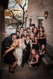 Samma könsbestämmer brölloppartiet Arkivfoton