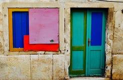 Sammandrabbning av färger Royaltyfri Fotografi
