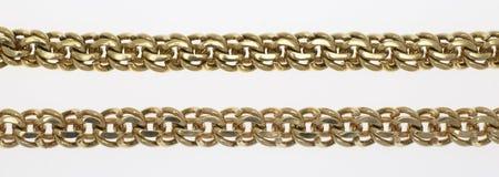 sammankopplin guldhalsbandet Royaltyfri Fotografi