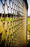 sammankopplin staketsammanlänkningen Arkivfoto