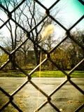 sammankopplin staketsammanlänkningen royaltyfri fotografi