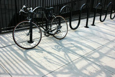 sammankoppling cykel Arkivfoton