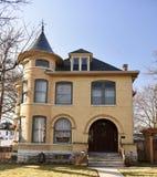 Sammanlänkningshus Royaltyfri Bild