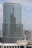 Sammanlagd bank i stadens centrum Miami Arkivfoto