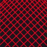 Sammansättning av abstrakt röd linje. Vektor   Royaltyfri Illustrationer