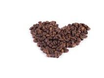 Sammansättning av kaffebönor Royaltyfri Foto