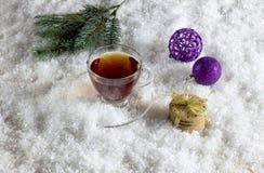 Sammansättning för `en s för jul och för nytt år Arkivbild