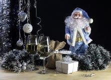 Sammansättning för `en s för jul och för nytt år Arkivbilder