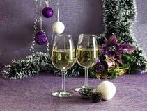 Sammansättning för `en s för jul och för nytt år Royaltyfria Bilder