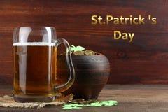Sammansättning till dagen av St Patrick Royaltyfria Foton