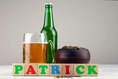 Sammansättningen av St Patrick Fotografering för Bildbyråer