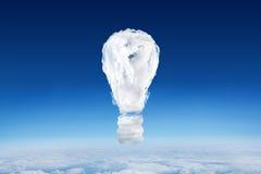 Sammansatt bild av den ljusa kulan för moln Royaltyfria Foton